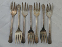 Load image into Gallery viewer, WM Rodgers International Silver Co. 46 Pieces Vintage Silverware Lot #15