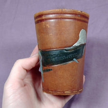 Load image into Gallery viewer, Argentina Leather w/ Felt Cup Celebrating Mayor Zanni Ciudad de Buenos Aires