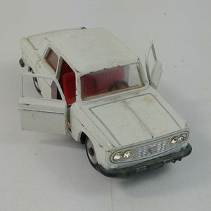 Mercury 33 Lancia Fulvia White 1:43 Italy 1960s Red Interior