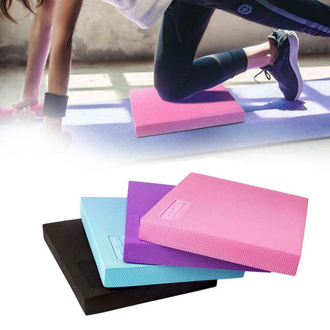 Foam Balanced Yoga Cushion Waist Training Balance Pad Ankle Knee Rehabilitation Physical Therapy Balancing Training Mat