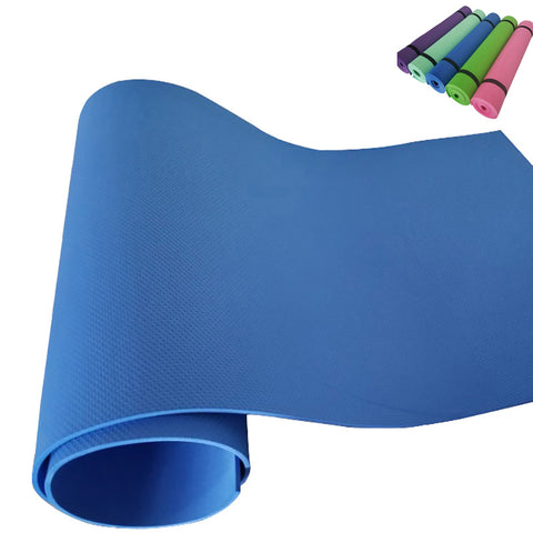 EVA Yoga Mat Thin 4 mm Soft Non-slip Folding GYM Exercise Fitness Mat Comfort Foam Yoga Mats Pilates Sport Supplies for Senior