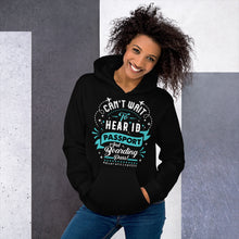 Load image into Gallery viewer, The Limited Edition Can't Wait to Hear Passport Unisex Hoodie