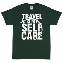 Load image into Gallery viewer, The Limited Edition Travel is My Self Care Short Sleeve T-Shirt