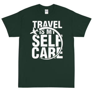 The Limited Edition Travel is My Self Care Short Sleeve T-Shirt