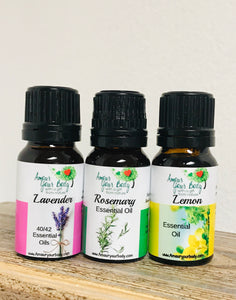 Amour Your Body's Essential Oils