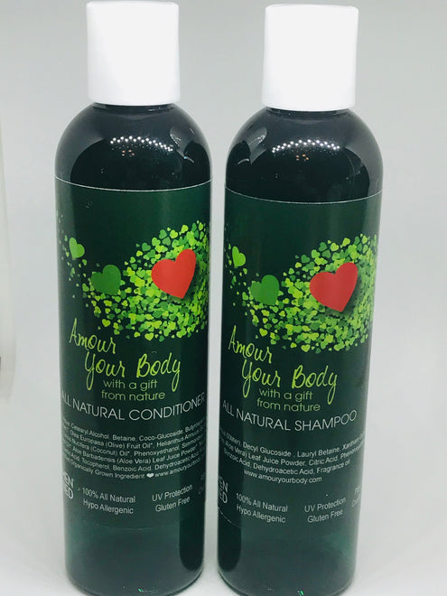 All-Natural Hair Care