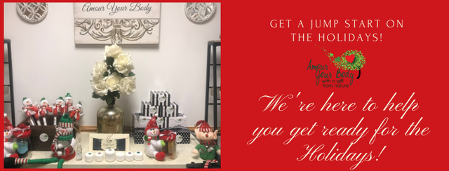 Get ready for the holidays. Chrismas is just around the corner and were here to help you with our prepackaged gifts.