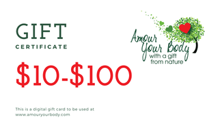 Amour Your Body Gift Card