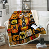 French Bulldog Halloween Blanket