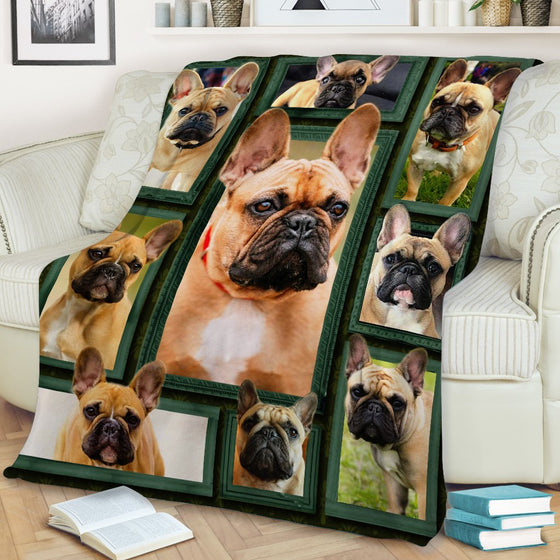 French Bulldog Beauty Blanket