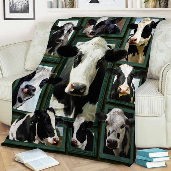 Dairy Cow Beauty Blanket