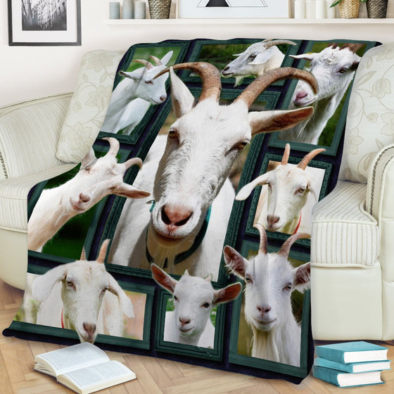 Goat Beauty Blanket