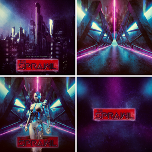 The Sprawl Digital Wallpapers