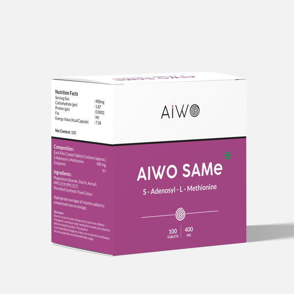 AIWO SAMe Supplements | 100 tablets