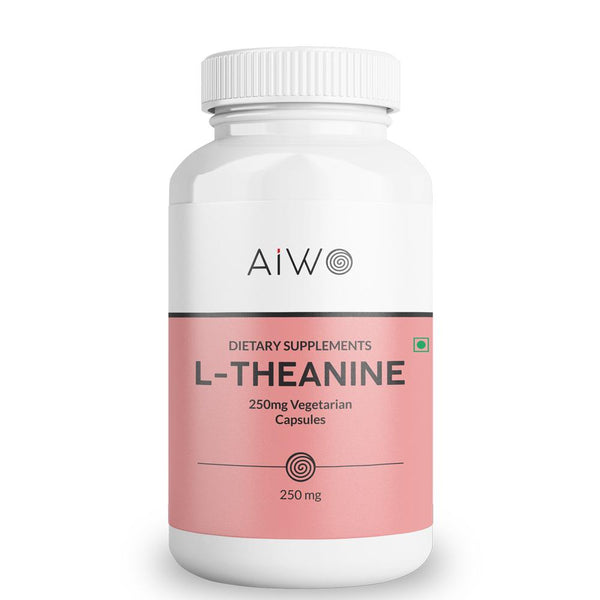 AIWO L-Theanine Capsules | 100 Softgels
