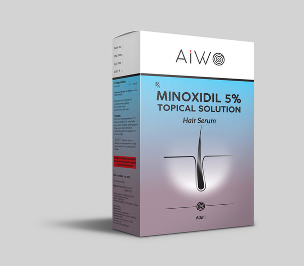 AIWO Minoxidil 5% Hair Serum | 60ml
