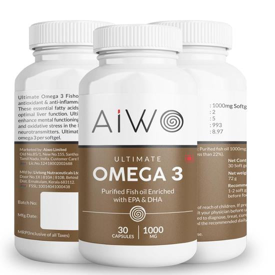 AIWO Fatty Liver Supplement Package