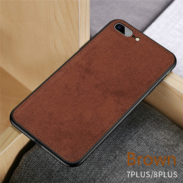 Ultra Thin Fabric iPhone Case