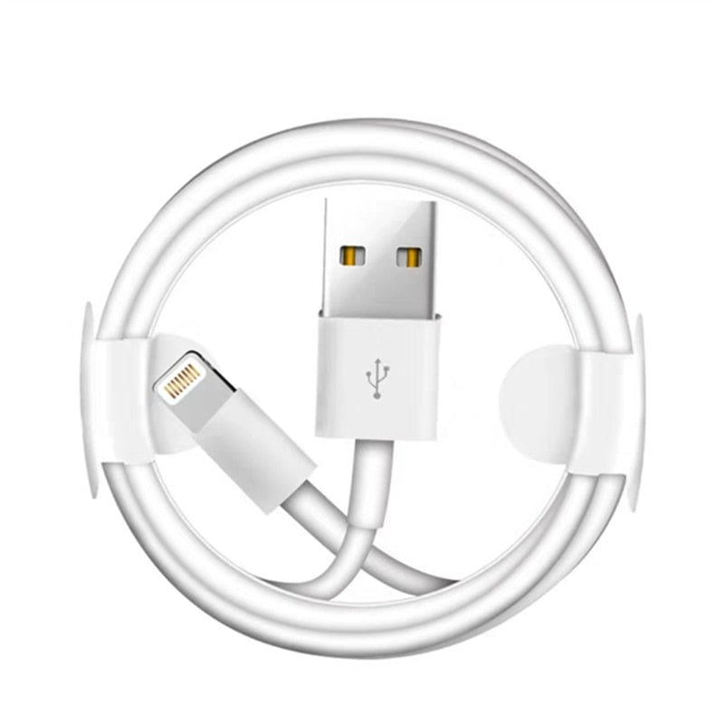 Apple lightning charging cable