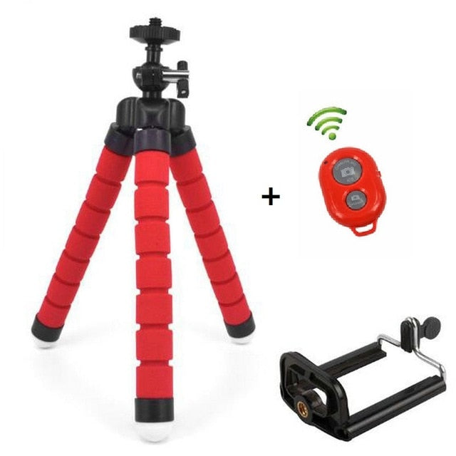Flexible Tripod for iPhone With Remote Control
