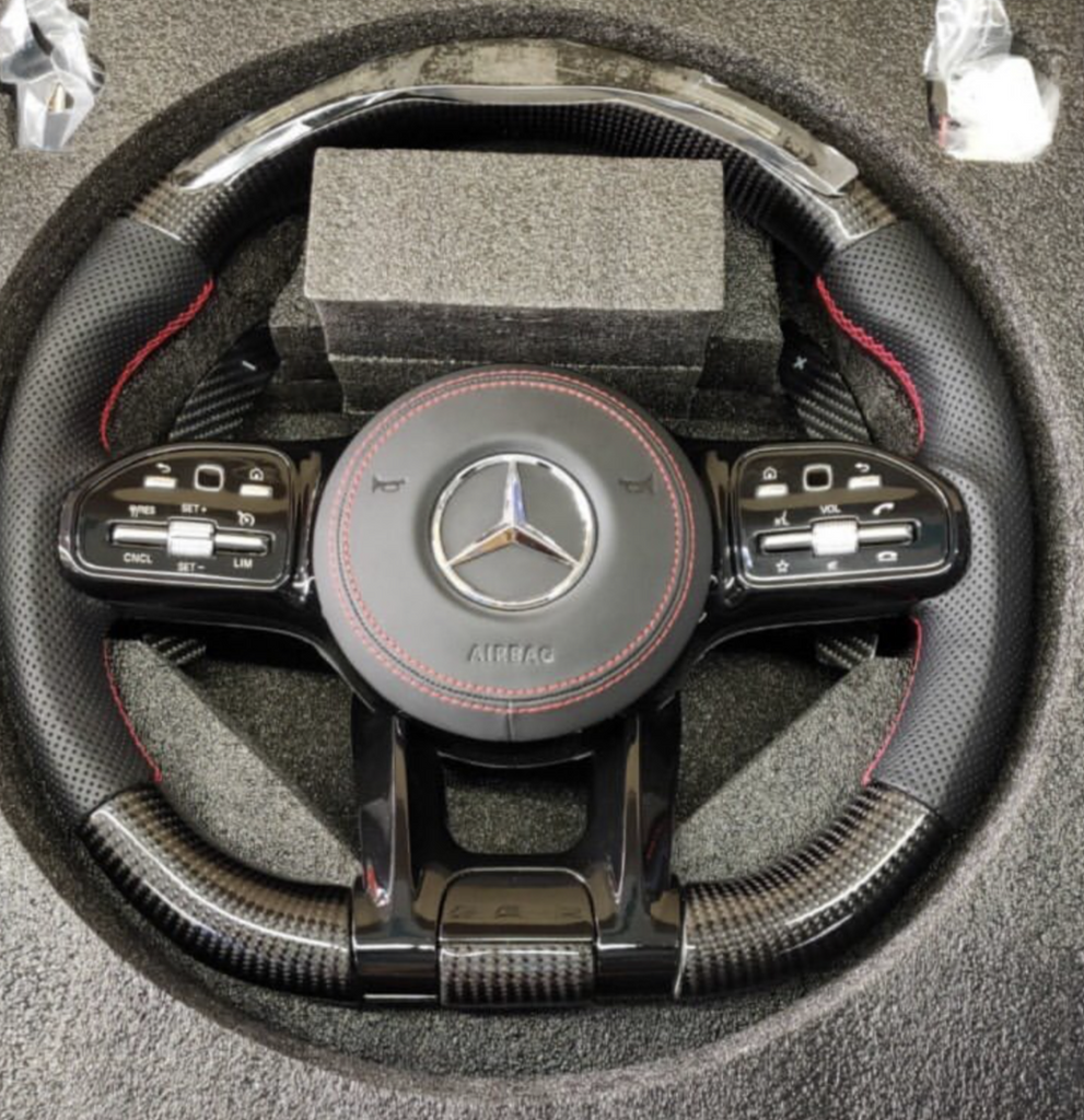 2017 Mercedes Benz GTS, LED, Red Stitching, Alcantara, Airbag with Red Stitching