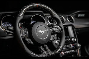 Forged Carbon Fiber Steering Wheel (2015-2020)