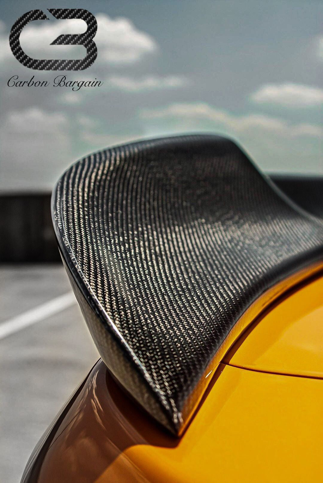 CarbonBargain™️ MMD Style Carbon Fiber Spoiler for Ford Mustang