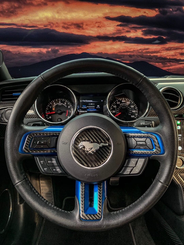 CarbonBargain™️ Steering Wheel Trim Overlay