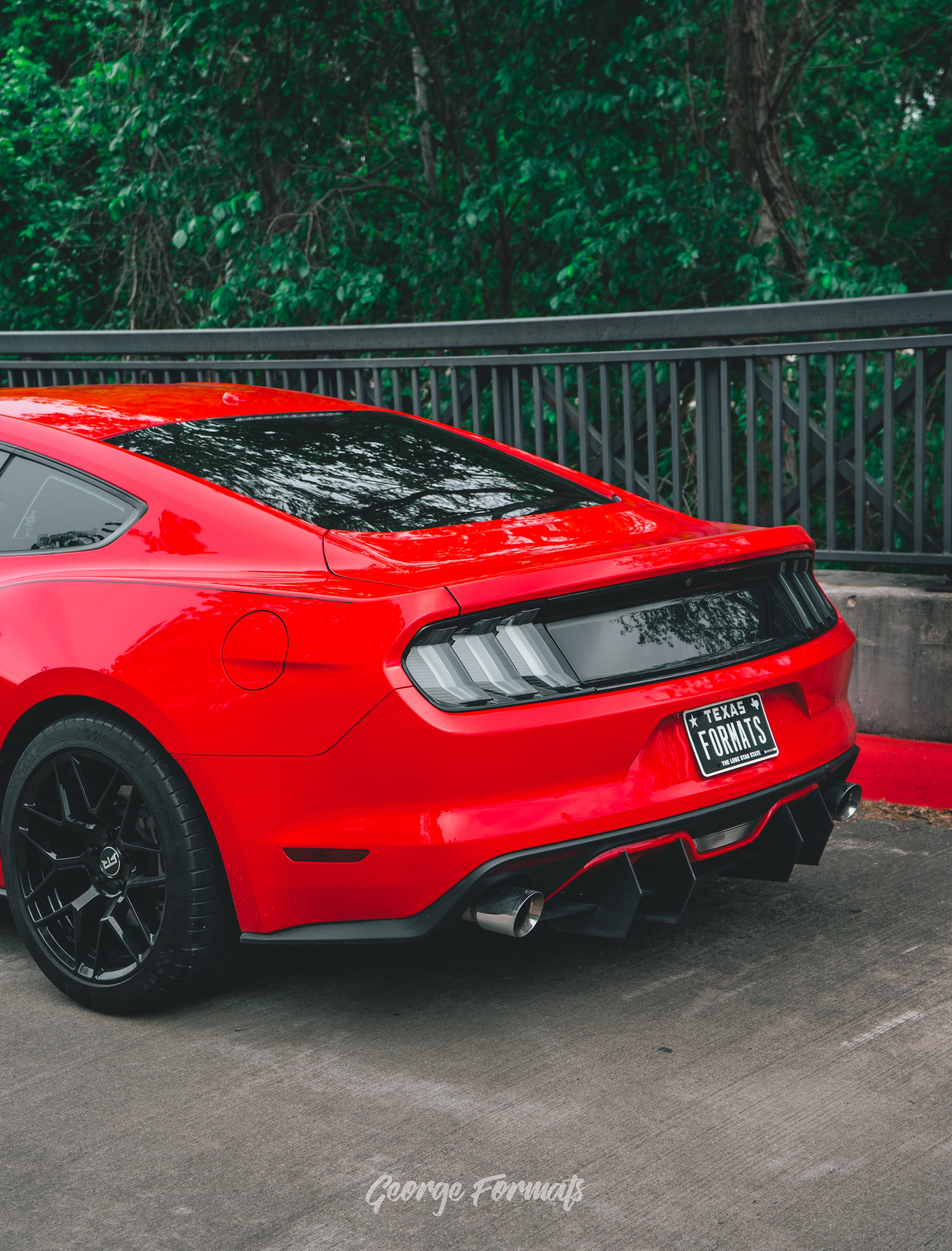 Smoked Euro Spec Tail Lights for 2015-2020 Mustangs