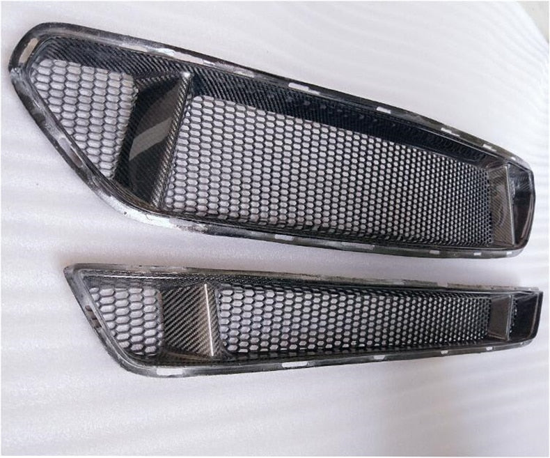 CarbonBargain Carbon Fiber Grille For 2015-2018 Mustang Upper and Lower