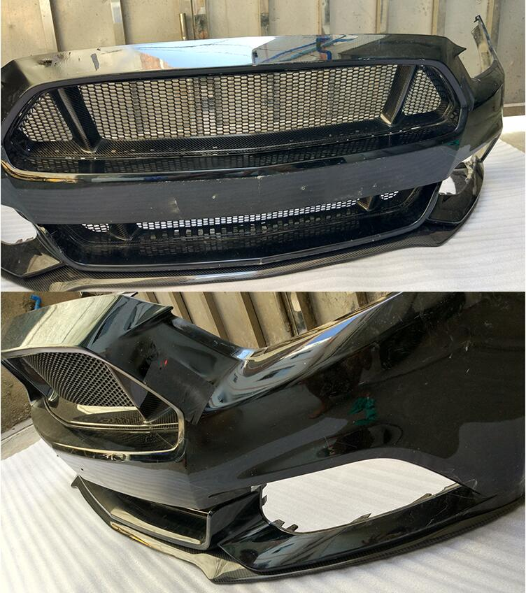 CarbonBargain™️ Carbon Fiber Grille For 2015-2017 Mustang Upper and Lower