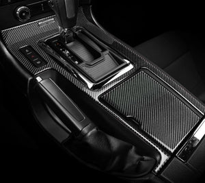 Carbon Fiber Center Console Overlay