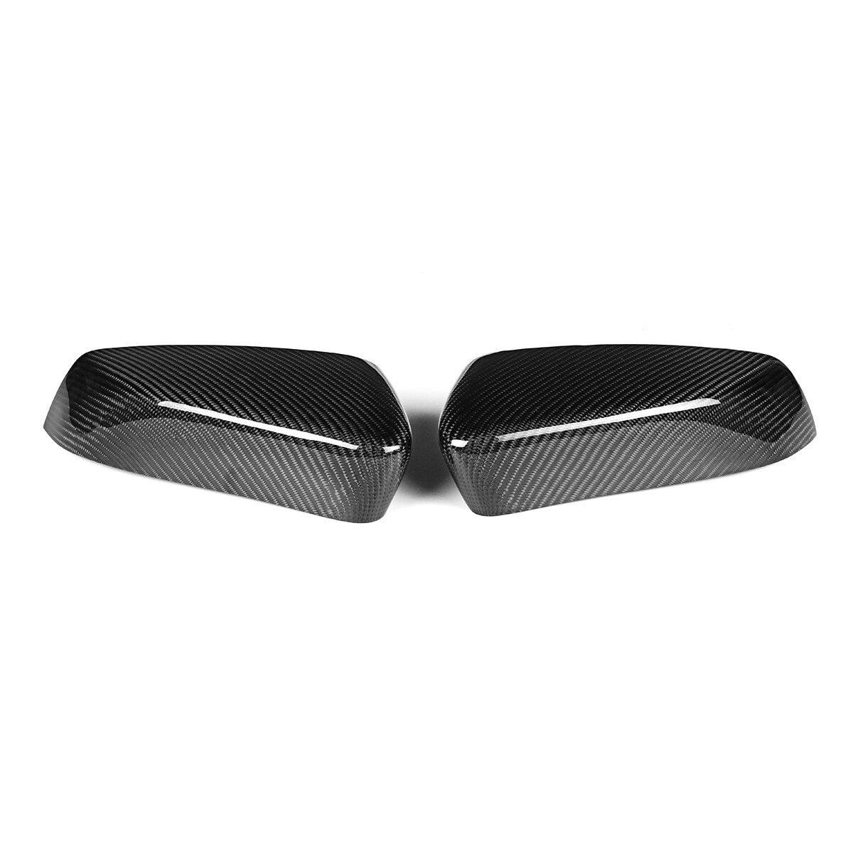 Carbon Fiber Side Mirror Covers For Ford Mustang 2010-2014