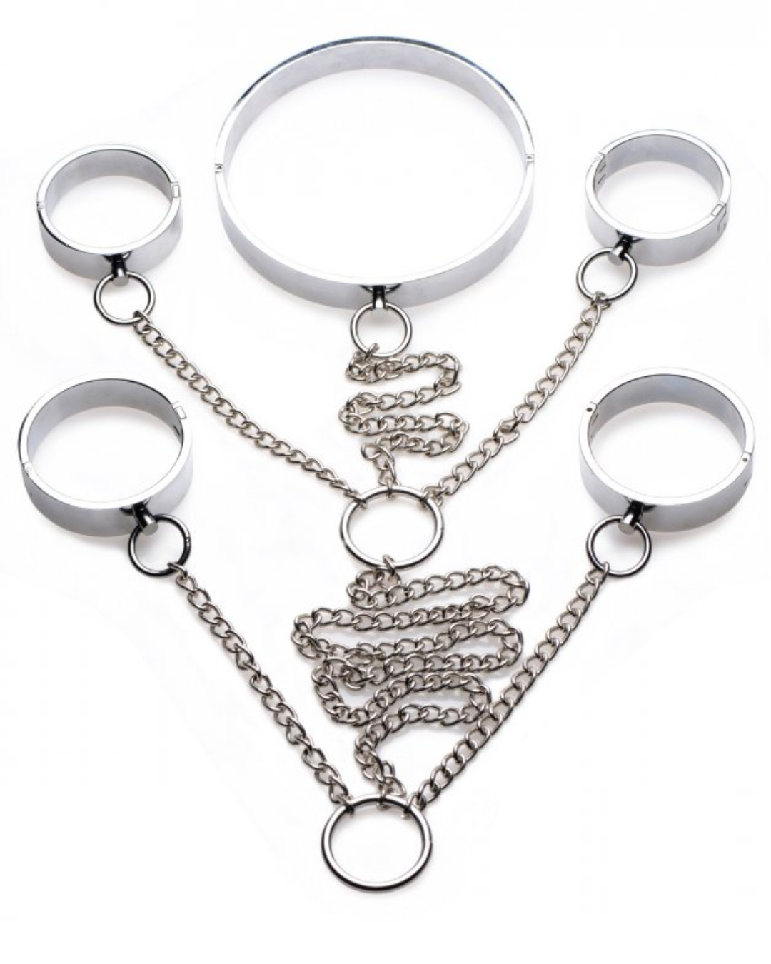 5 Piece Stainless Steel Shackle Set (Large)