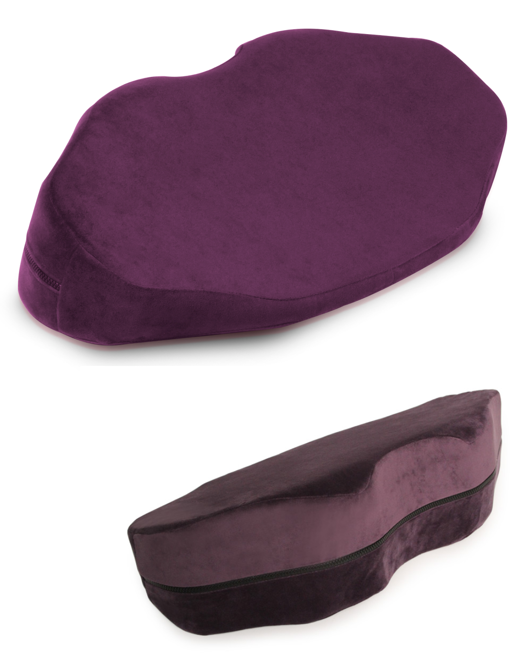Liberator Decor Arche Wedge Sex Positioning Cushion - Assorted Colors plum