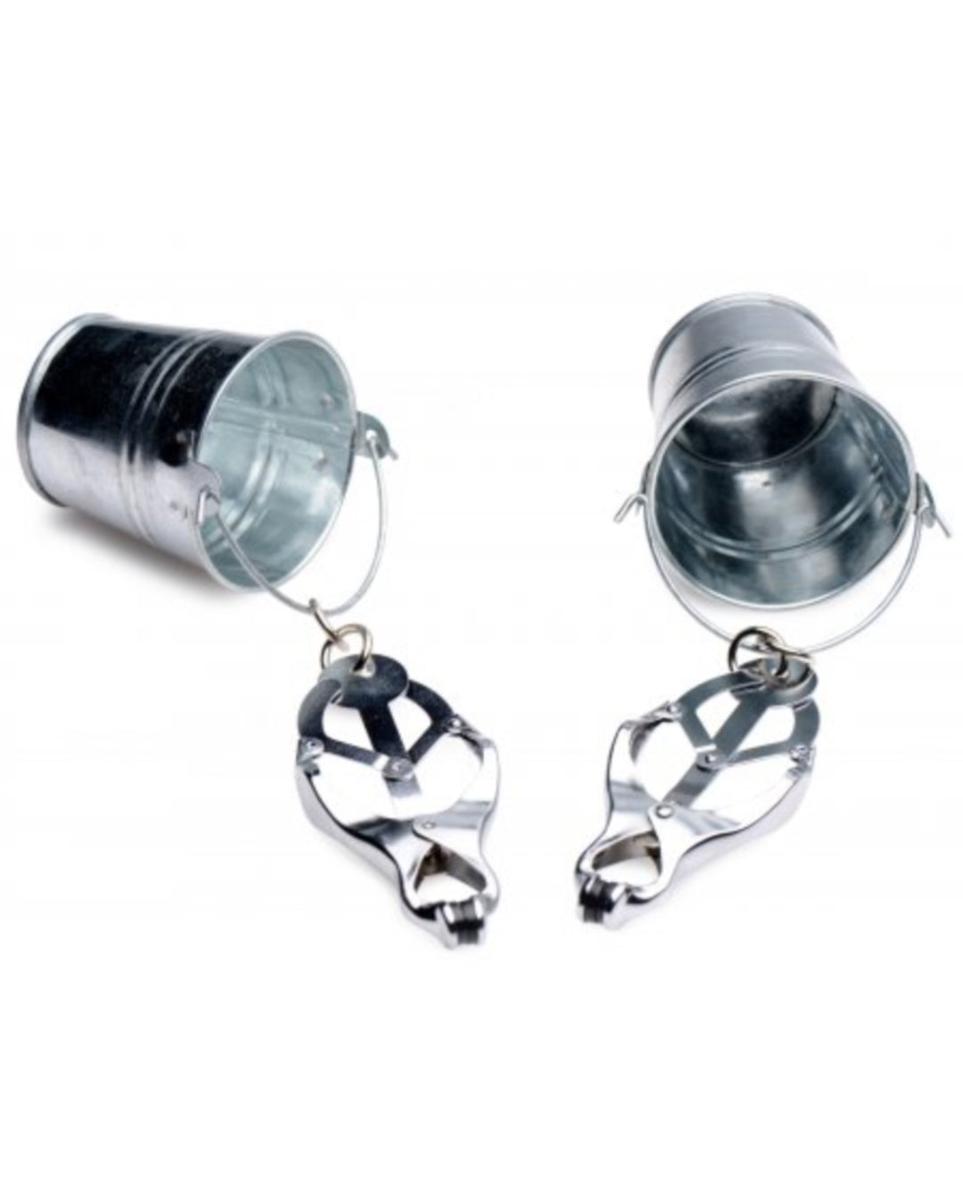 Jugs Nipple Clamps With Stainless Steel Buckets