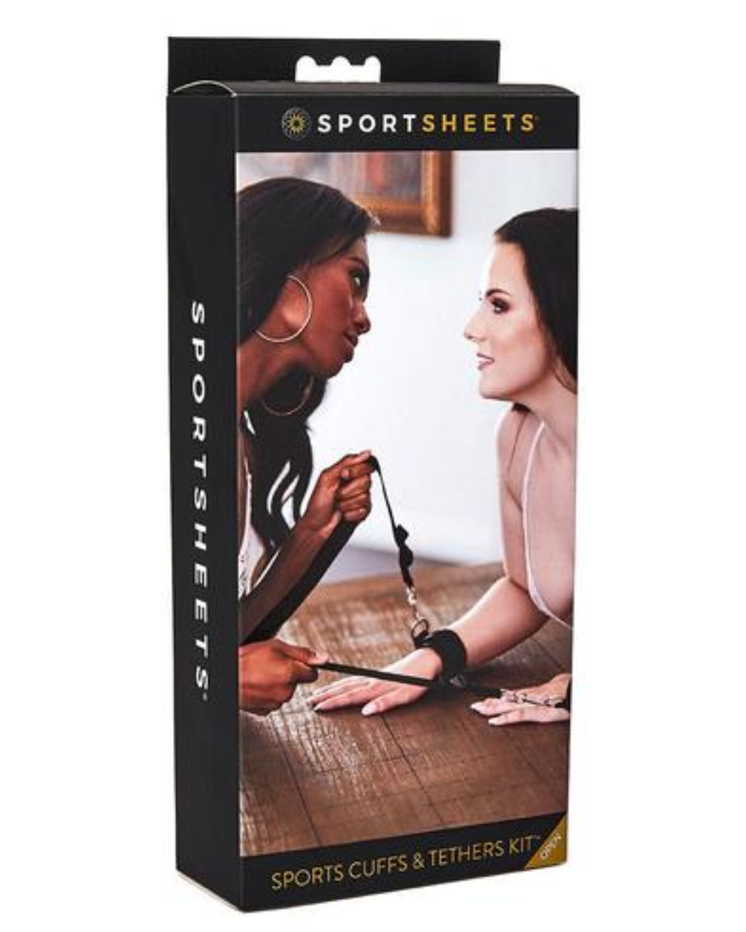 Sports Cuffs & Tethers Restraints Kit by Sportsheets box