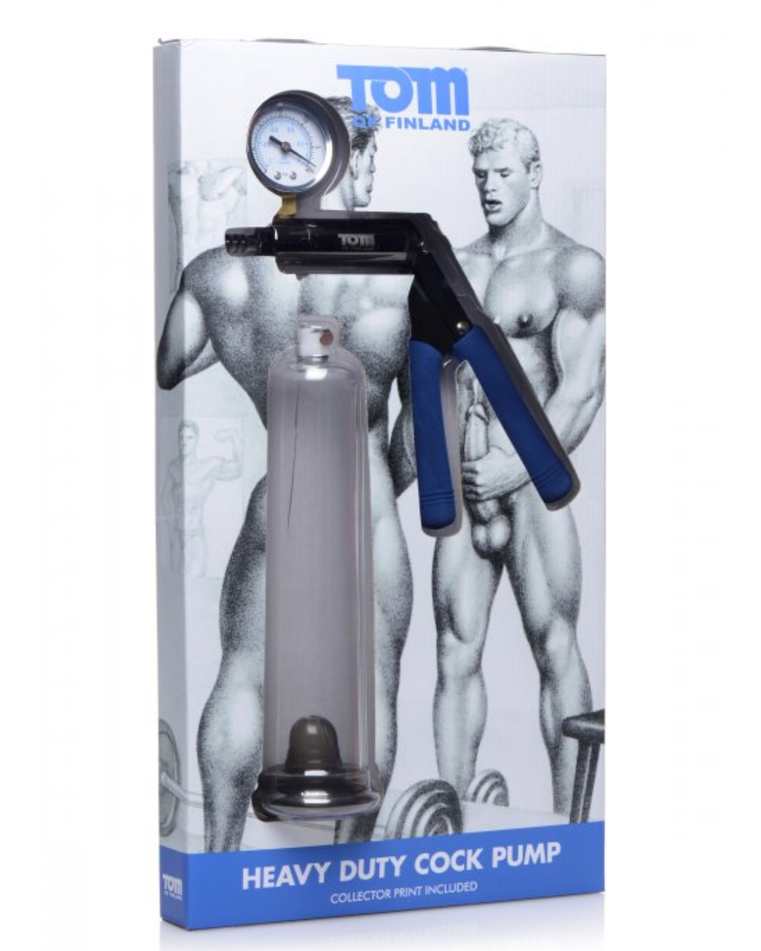 Tom Of Finland Heavy Duty Cock Pump package