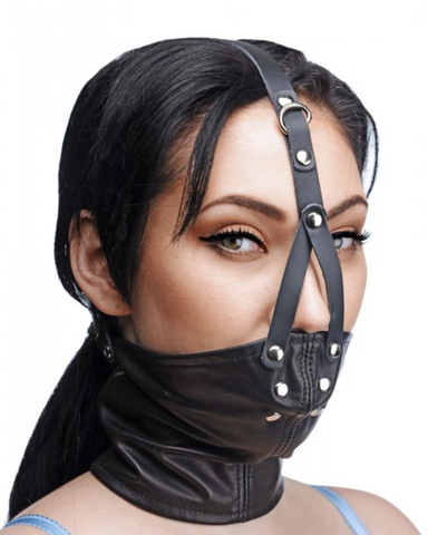 Neck Corset Harness With Stuffer Gag