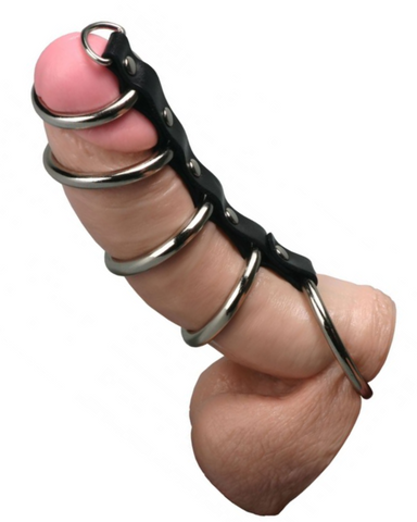 Strict Leather 5 Gates Of Hell Penis Chastity Device