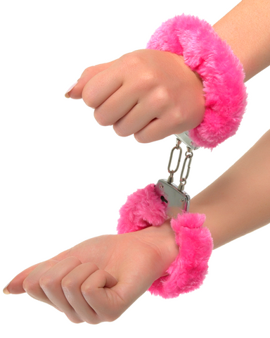 Furry Neon Handcuffs - Pink or Purple