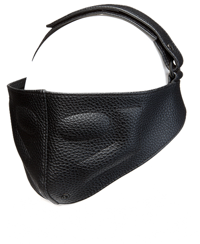 Leather Blinding Mask - Kink by Doc Johnson