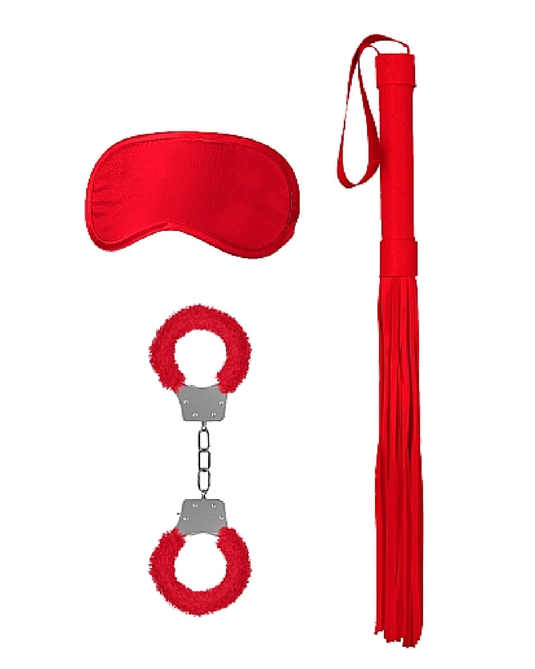 Ouch! Introductory Bondage Kit #1 - Red