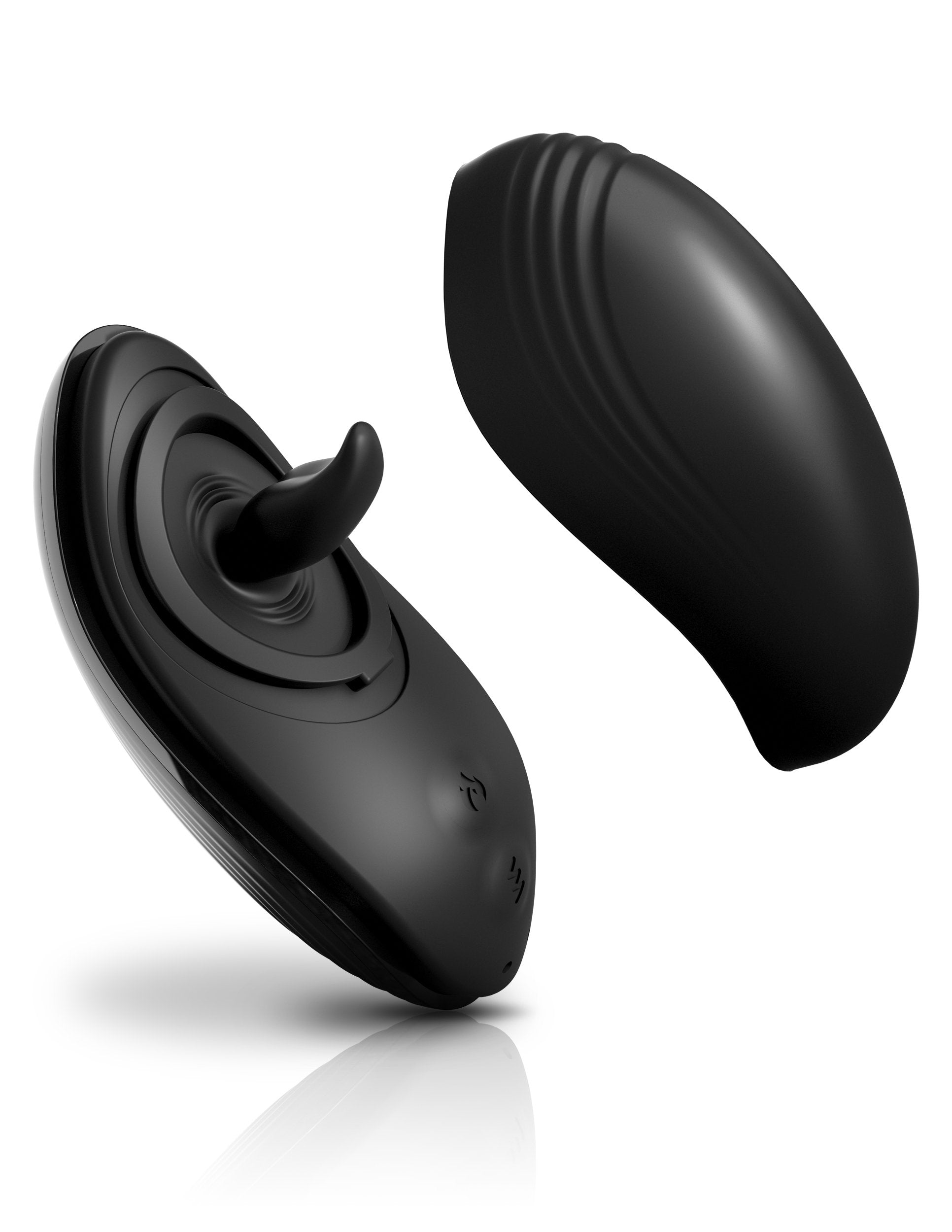 Sir Richard's Control Silicone Rim Joy Rimming Tongue Vibrator with the case lid