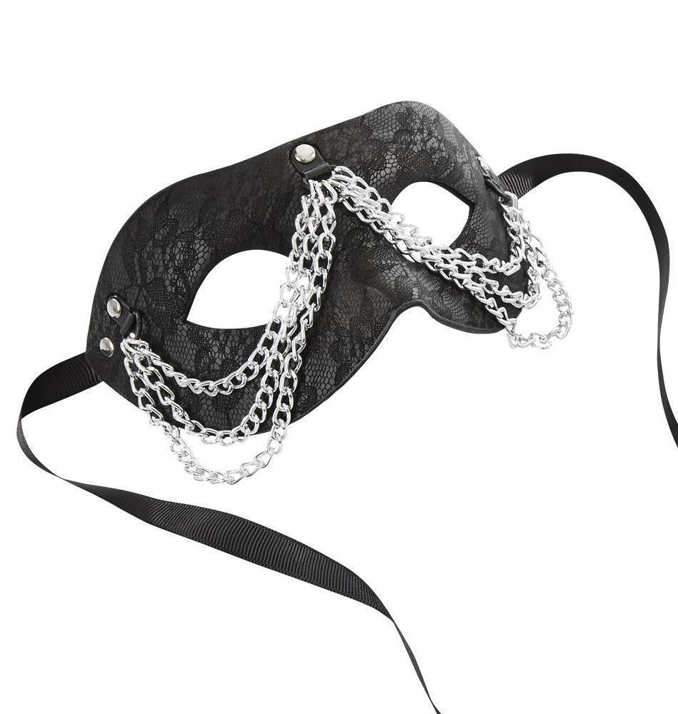 Sincerely Chained Lace Mask by Sportsheets