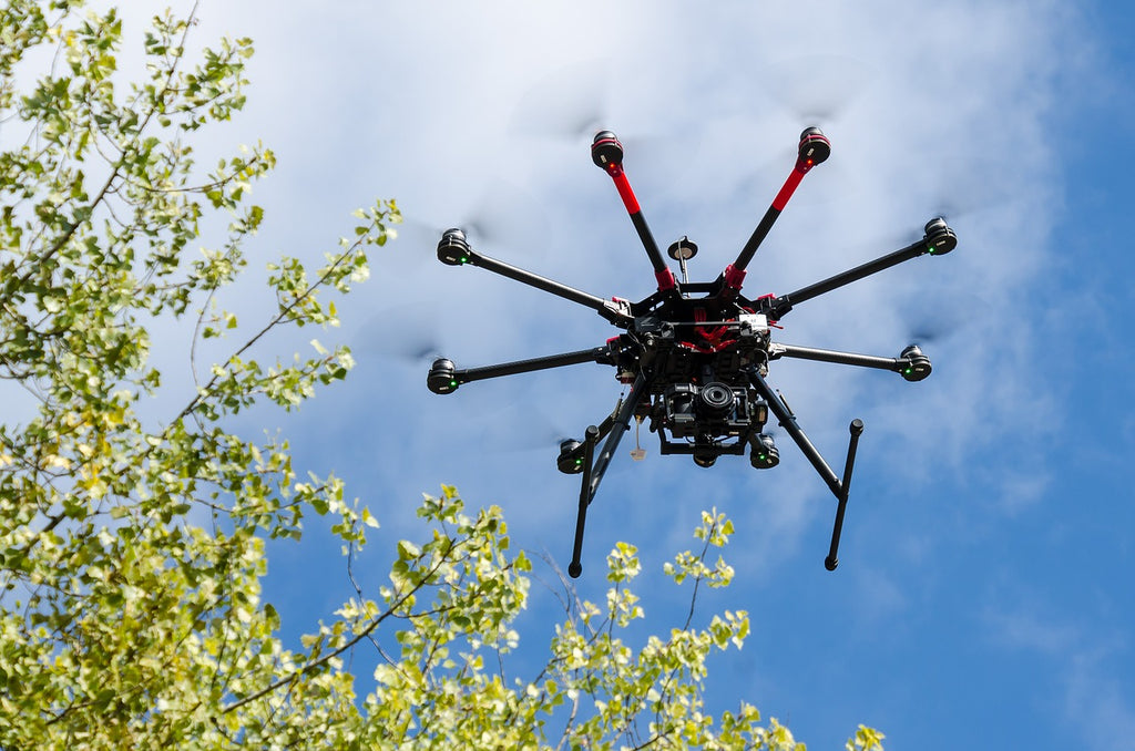 A drone. What else?