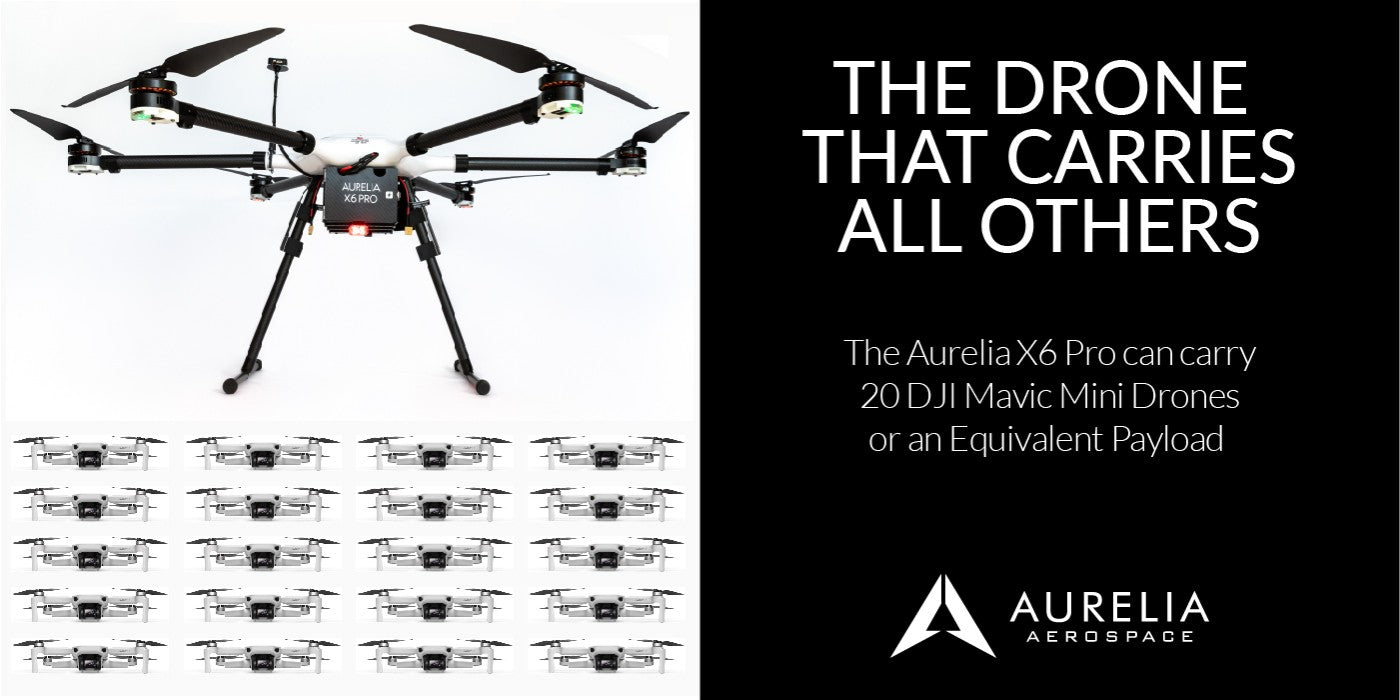 Aurelia X6 Pro - Drone that carries all others