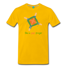 Load image into Gallery viewer, Men's Premium T-Shirt - This Is Our Prayer - sun yellow