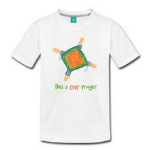 Load image into Gallery viewer, Kids' Premium T-Shirt - This Is Our Prayer - white