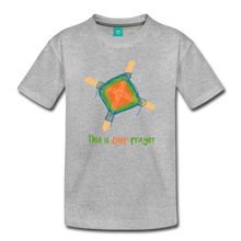 Load image into Gallery viewer, Kids' Premium T-Shirt - This Is Our Prayer - heather gray
